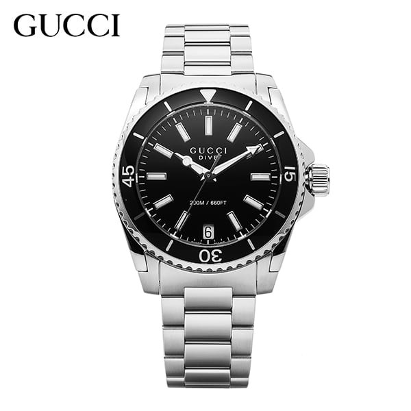 [구찌시계 GUCCI] YA136403 Dive Black Dial Stainle 32mm