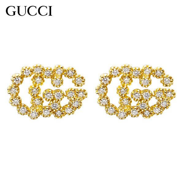 [구찌 쥬얼리 GUCCI] YBD481676001 (481676 J8540 8000) / GG Running 18K 옐로우골드 다이아몬드 귀걸이 타임메카
