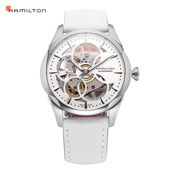 [해밀턴시계 HAMILTON] H32405811 JAZZMASTER VIEWMATIC SKELETON 여성용 36mm