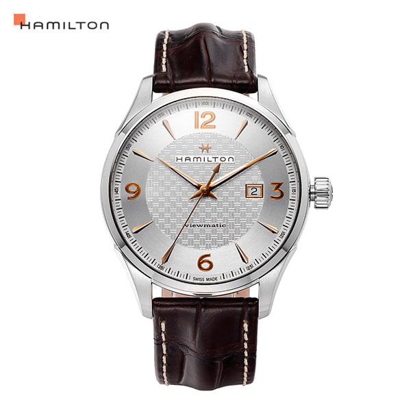 ☆-) [해밀턴시계 HAMILTON] H32755551 / 재즈마스터(JAZZMASTER) Viewmatic Auto 44mm