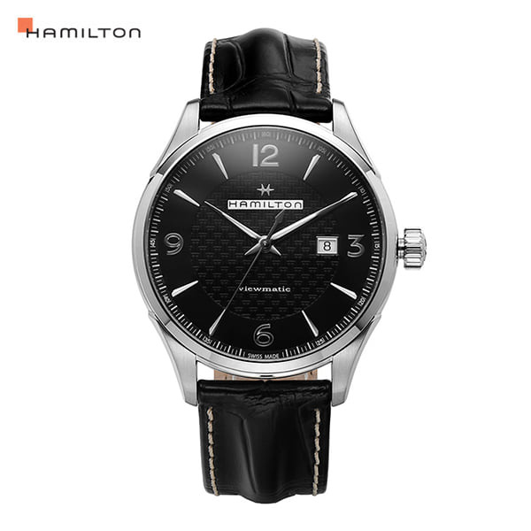 ☆-) [해밀턴시계 HAMILTON] H32755731 / 재즈마스터(JAZZMASTER) Viewmatic Auto 44mm
