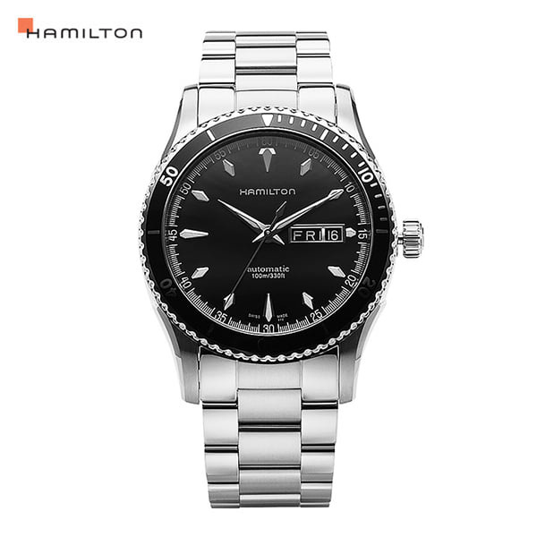 할로윈-) [해밀턴시계 HAMILTON] H37565131 / 재즈마스터(ZAZZMASTER) Seaview Day Date Auto 42mm