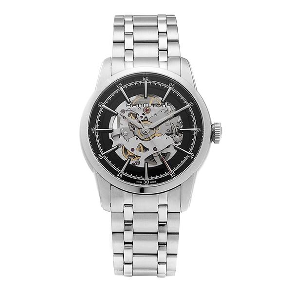 [해밀턴시계 HAMILTON] H40655131 레일로드 스켈레톤(RAILROAD SKELETON) 42mm