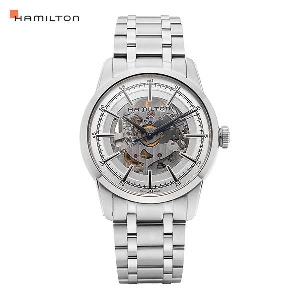 [해밀턴시계 HAMILTON] H40655151 레일로드 스켈레톤(RAILROAD SKELETON) 42mm