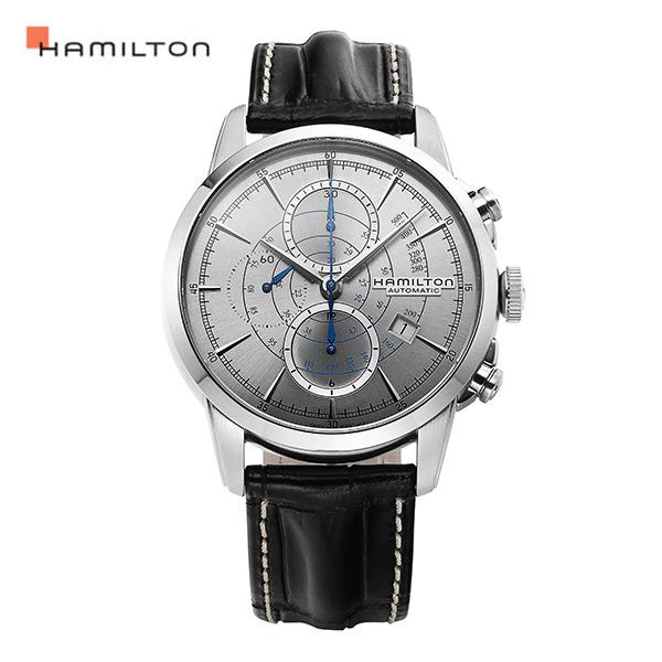[해밀턴시계 HAMILTON] H40656781 / 레일로드(RAILROAD) 크로노그래프 오토매틱 44mm