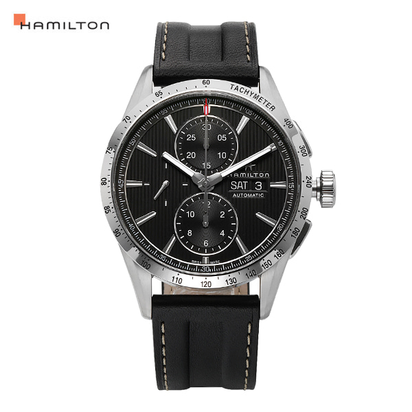 [해밀턴시계 HAMILTON] H43516731 / 브로드웨이 Broadway Auto Chrono 43mm