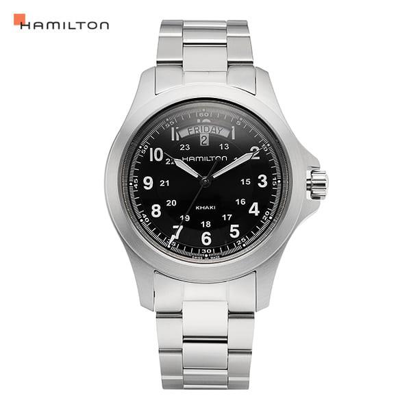 [해밀턴시계 HAMILTON] H64451133 / 카키필드(KHAKI FIELD) 킹 40mm