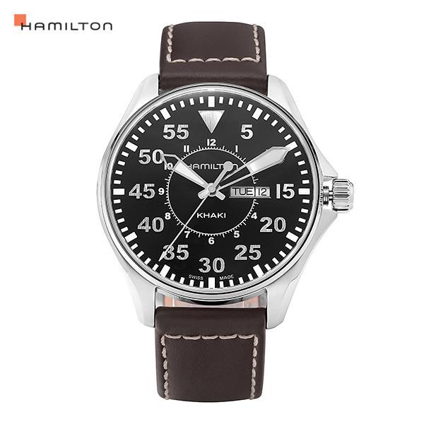 [해밀턴시계 HAMILTON] H64611535 카키(KHAKI) 파일럿 44mm