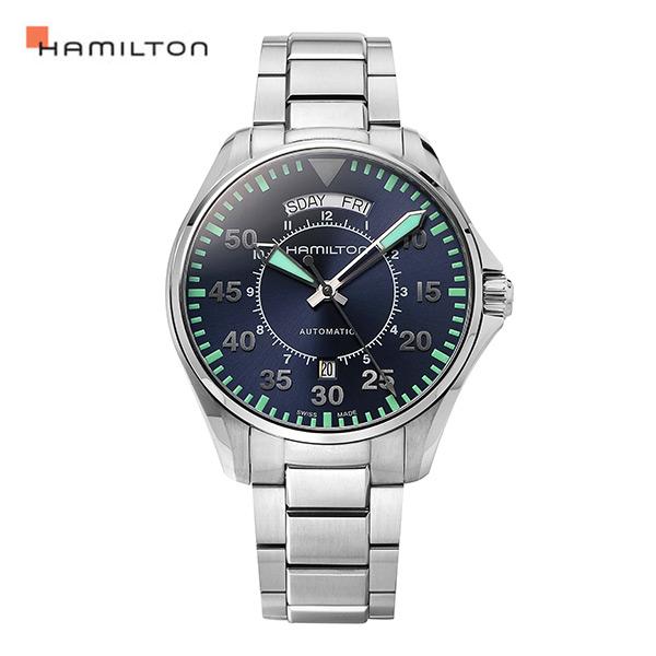 [해밀턴시계 HAMILTON] H64615145 / 카키 (Kaki) 에비에이션 파일럿 42mm