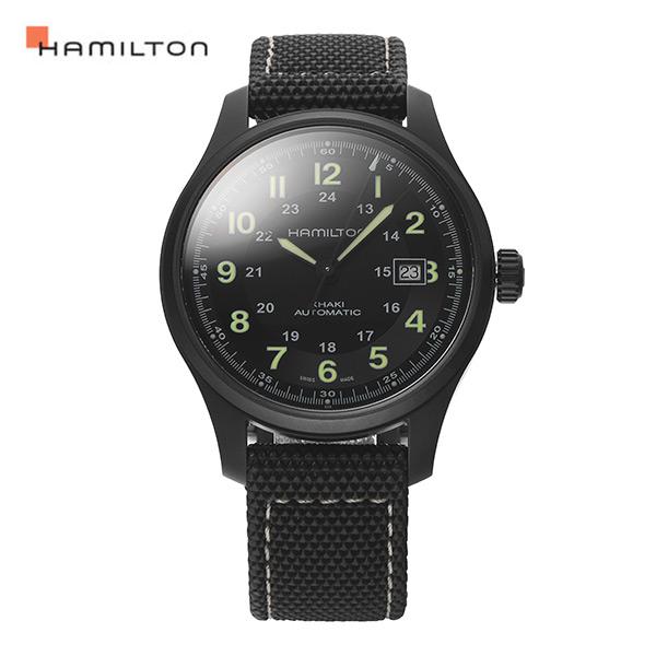 [해밀턴시계 HAMILTON] H70575733 / 카키필드킹 (KHAKI FIELD) 티타늄 오토매틱 38mm