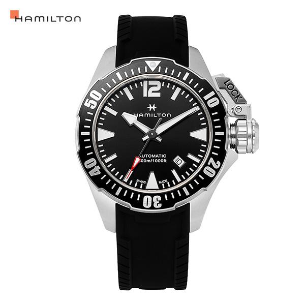 [해밀턴시계 HAMILTON] H77605335 / 카키네이비(KHAKI NAVY) 프로그맨 남성용 42mm