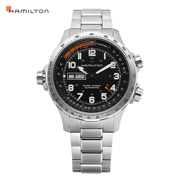 [해밀턴시계 HAMILTON] H77755133 / 카키(KHAKI) 엑스윈드 X-WIND 45mm