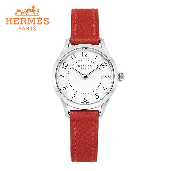 [에르메스 HERMES] CA2.110.220(UU5E) (041735WW00) / 슬림 데르메스 Slim d'Hermes 스몰 PM 여성용 가죽시계 25mm 타임메카