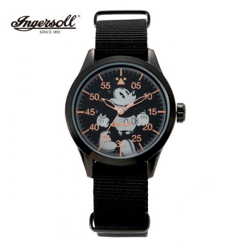 [잉거솔 INGERSOLL] DIN008BKBK Classic Time 클래식타임 디즈니