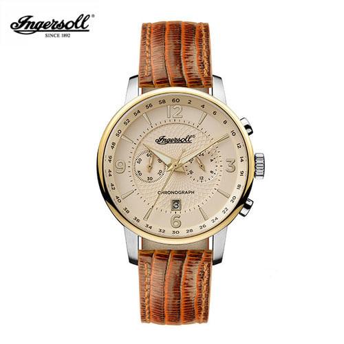 [잉거솔 INGERSOLL] I00603 Grafton (그래프턴) 남성용 가죽시계 44mm 쿼츠 아는형님 이준 착용 시계