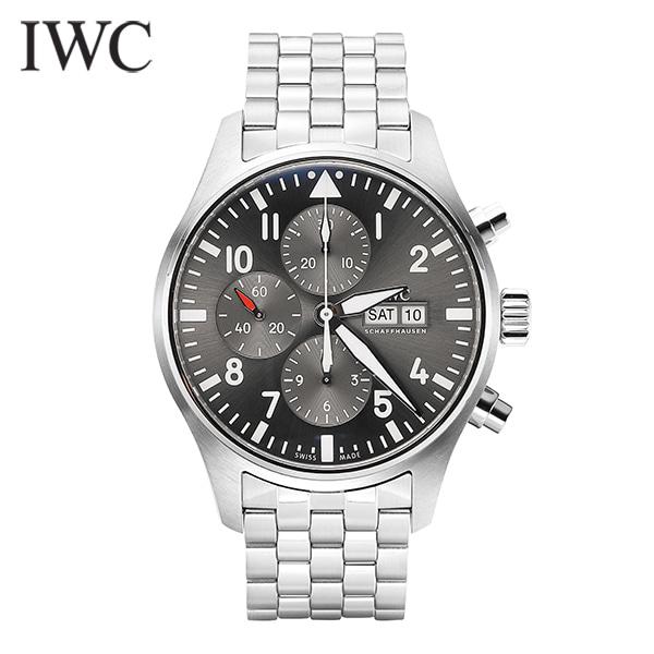 ☆-) [아이더블유씨시계 IWC] IW377719 PIPOTS 파일럿 오토매틱 43mm