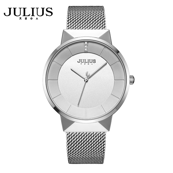 [쥴리어스 JULIUS] JA-1104MA 남성용 메쉬밴드 메탈시계 38.5 X 45.7mm 타임메카