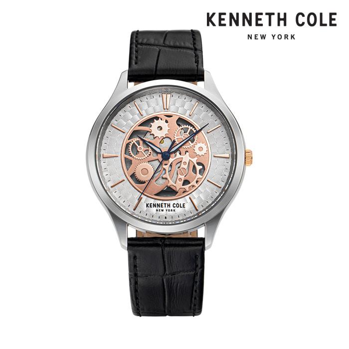 [케네스콜 KENNETH COLE] KC50631001 쿼츠 남성용 가죽시계 43mm 타임메카