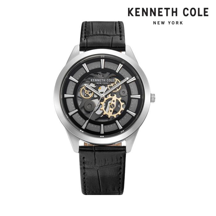 [케네스콜 KENNETH COLE] KC50632001 쿼츠 남성용 가죽시계 43mm 타임메카