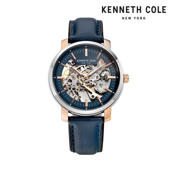 [케네스콜 KENNETH COLE] KC50776002 오토매틱 남성용 가죽시계 42.5mm 타임메카