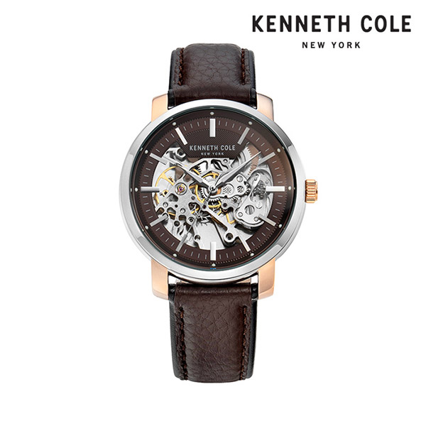 [케네스콜 KENNETH COLE] KC50776003 오토매틱 남성용 가죽시계 42.5mm 타임메카
