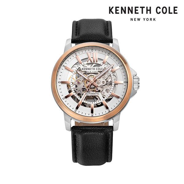 [케네스콜 KENNETH COLE] KC50779003 오토매틱 남성용 가죽시계 43mm 타임메카