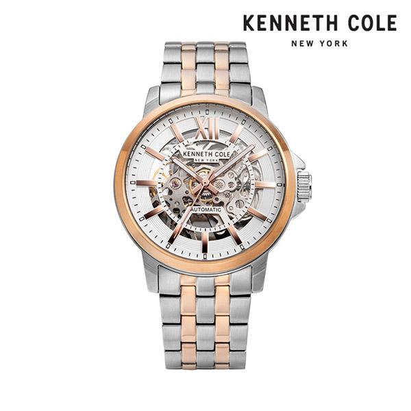 [케네스콜 KENNETH COLE] KC50779006 오토매틱 남성용 메탈시계 43mm 타임메카