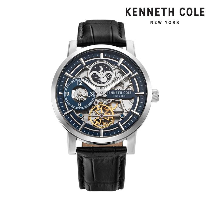 [케네스콜 KENNETH COLE] KC50917007 오토매틱 남성용 가죽시계 44mm 타임메카