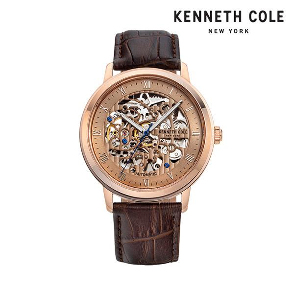 [케네스콜 KENNETH COLE] KC50920001 오토매틱 남성용 가죽시계 43mm 타임메카