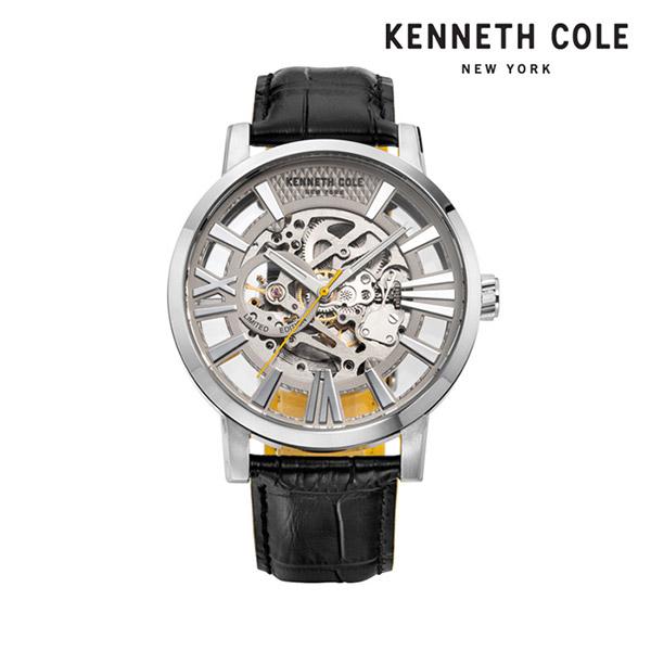 [케네스콜 KENNETH COLE] KC51018003 오토매틱 남성용 가죽시계 46mm 타임메카