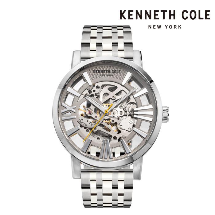 [케네스콜 KENNETH COLE] KC51018020A 오토매틱 남성용 메탈시계 46mm 타임메카