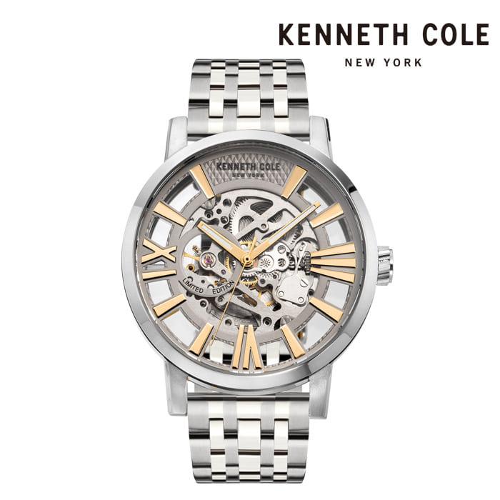 [케네스콜 KENNETH COLE] KC51018021A 오토매틱 남성용 메탈시계 46mm 타임메카
