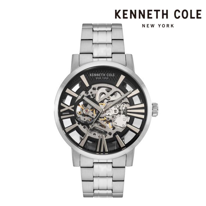 [케네스콜 KENNETH COLE] KC51018023 오토매틱 남성용 메탈시계 46mm 타임메카