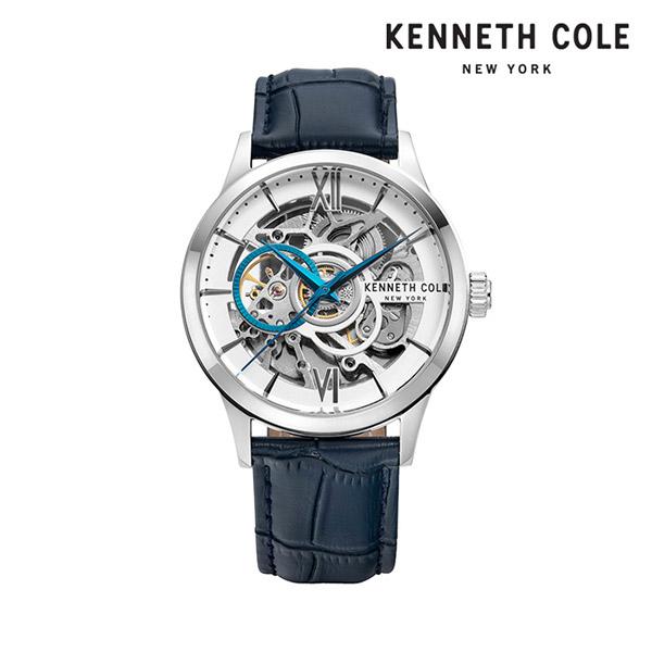[케네스콜 KENNETH COLE] KC51021001 오토매틱 남성용 가죽시계 43mm 타임메카