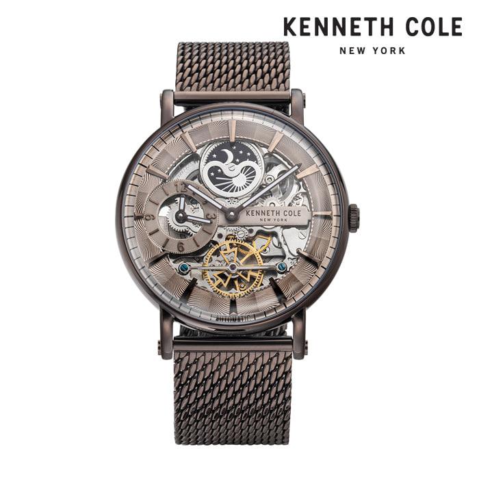 [케네스콜 KENNETH COLE] KC51093003 오토매틱 남성용 메탈시계 44mm 타임메카