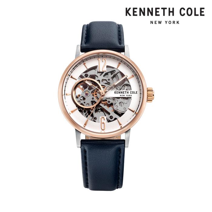 [케네스콜 KENNETH COLE] KC51120001 오토매틱 남성용 가죽시계 41mm 타임메카