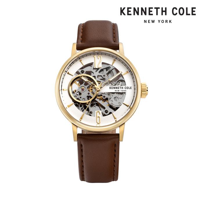 [케네스콜 KENNETH COLE] KC51120002 오토매틱 남성용 가죽시계 41mm 타임메카