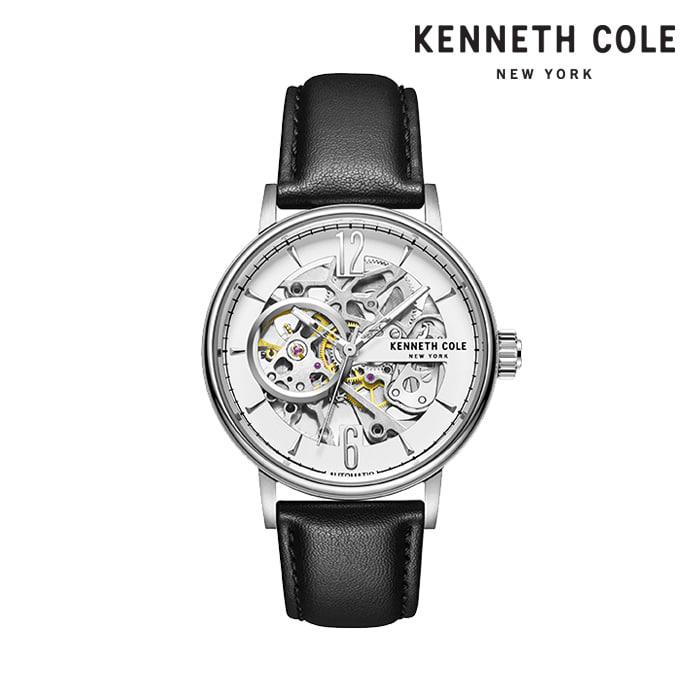 [케네스콜 KENNETH COLE] KC51120003 오토매틱 남성용 가죽시계 41mm 타임메카