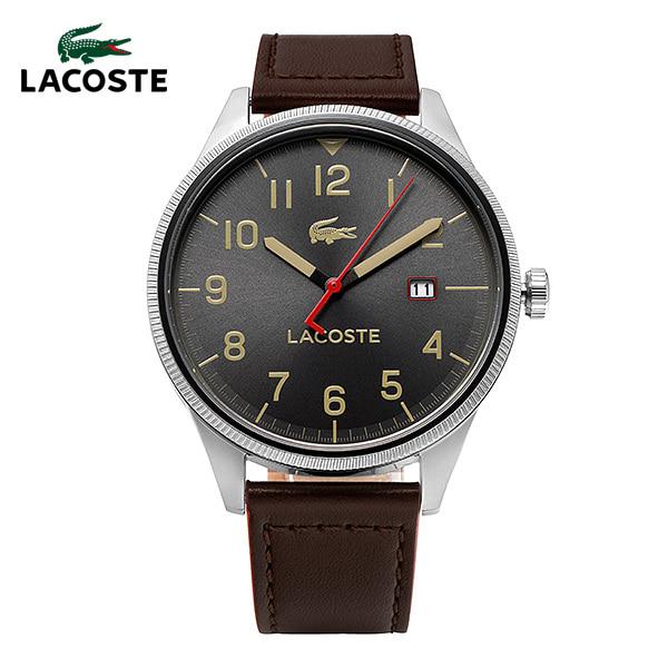 [라코스테시계 LACOSTE] 2011020 / 컨티넨탈 CONTINENTAL 남성용 가죽시계 43mm 타임메카
