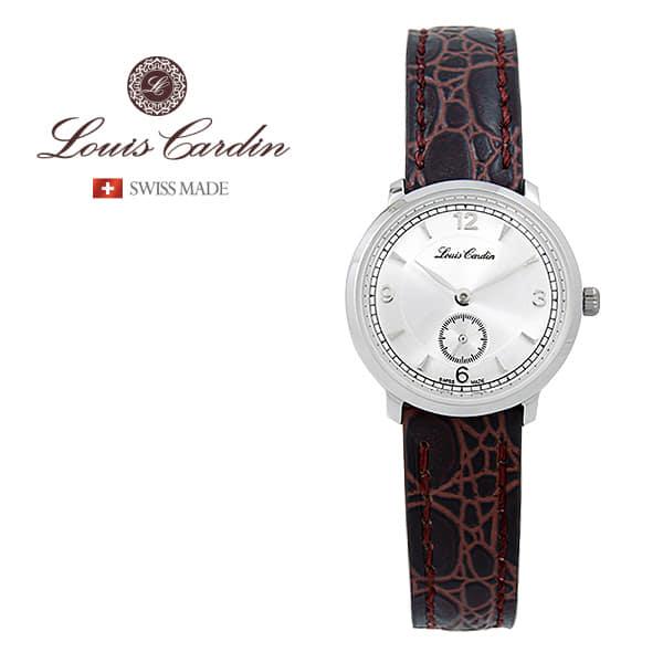 [루이스카딘 LOUIS CARDIN] LC003WTBKLA 스위스메이드 클래식 슬림 여성 가죽시계 28mm