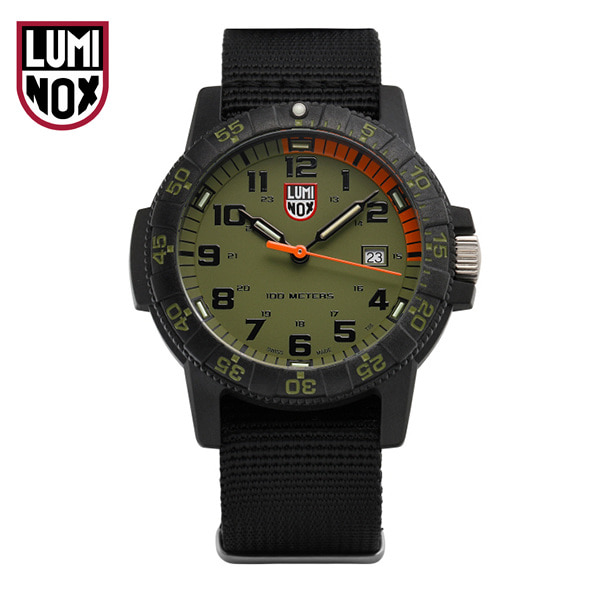 [루미녹스시계 LUMINOX] XS.0337 / Sea Turtle 0320 시리즈 남성용 나토밴드 시계 44mm