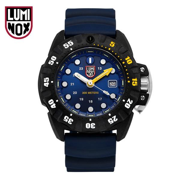 [루미녹스시계 LUMINOX] XS.1553 / Scott Cassel Deep Dive 1550 시리즈 남성용 우레탄시계 45mm