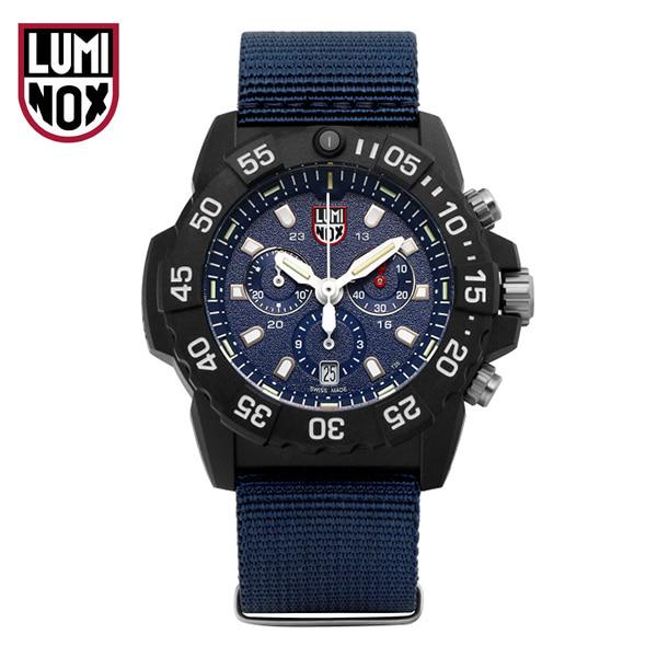 [루미녹스시계 LUMINOX] XS.3583.ND / Navy Seal 3580 시리즈 크로노그래프 남성용 나토밴드 시계 45mm
