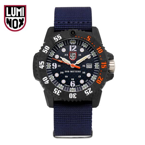 [루미녹스시계 LUMINOX] XS.3803.C / Master Carbon Seal 3800 시리즈 남성용 나토밴드 시계 46mm