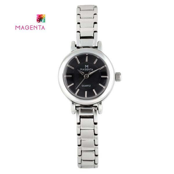 [마젠타 MAGENTA] MA110.02.BK 여성 메탈 시계 / 언니는살아있다 손여은 착용시계 [한국본사정품]