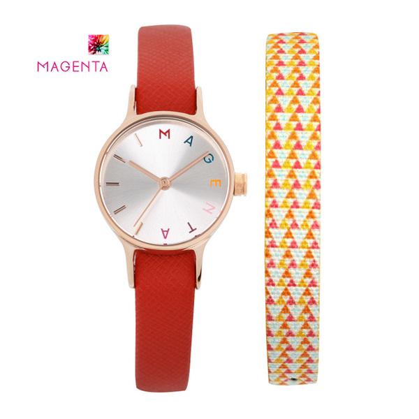 [마젠타 MAGENTA] MG887.01.202 / 여자 가죽 시계 말하는데로 장도연 시계