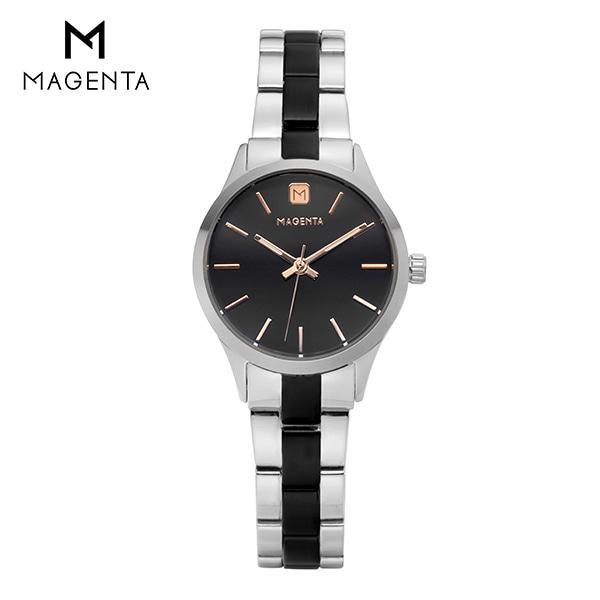 [마젠타 MAGENTA] MG888L.03.BK.MT / 여성 메탈 시계 ★언니는살아있다 협찬시계