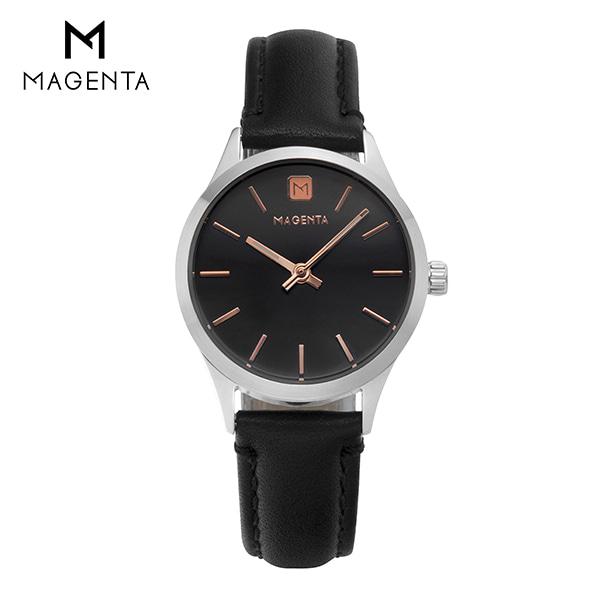 [마젠타 MAGENTA] MG888L.06.BK.LT / 여자 가죽 시계