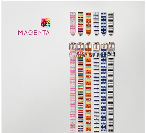 [마젠타 MAGENTA] Magenta Band 10mm Fabric Redgold