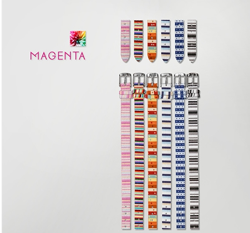 [마젠타 MAGENTA] Magenta Band 10mm Fabric Stainless